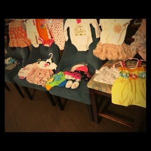 34 Piece Baby Bundle Girl 6-12 Months Big brands!